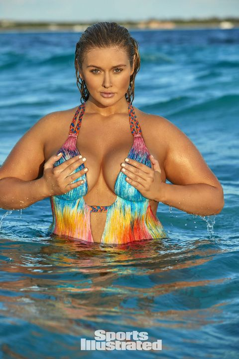 9ead300be9d SI s Swimsuit Issue Featured Its Curviest Model Ever and She s Freaking  Stunning