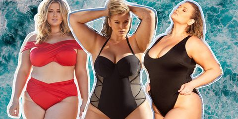 b11471271fb Plus-size Model Hunter McGrady has Launched a Swimwear Collection