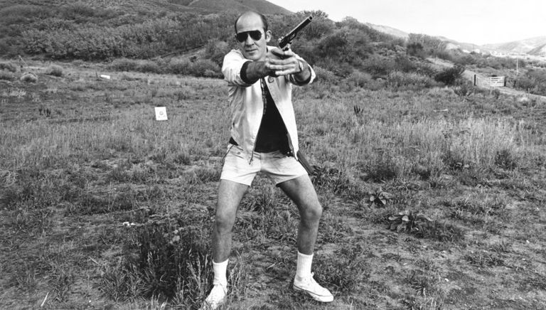 La efímera carrera política de Hunter S. Thompson