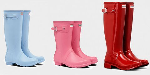 Footwear, Boot, Rain boot, Shoe, Pink, Riding boot, Material property, Durango boot, Snow boot,