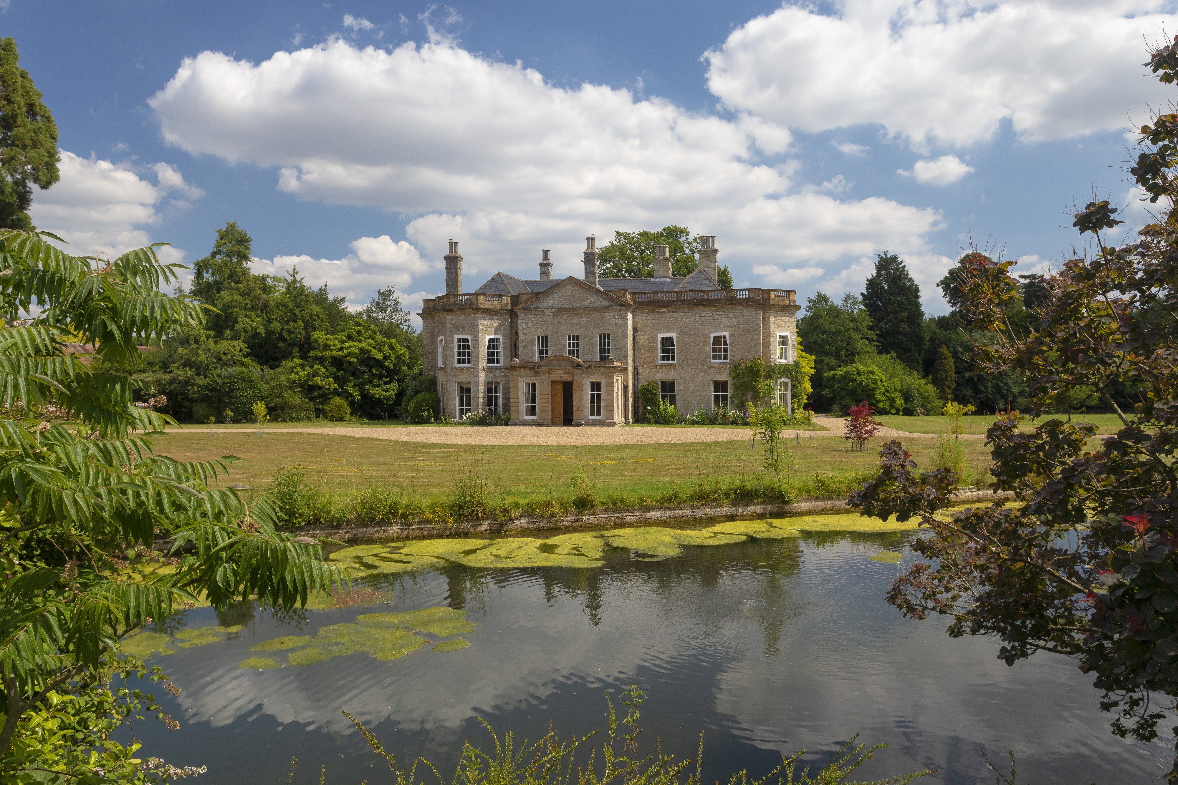 A tranquil Grade II-listed country estate in Kent