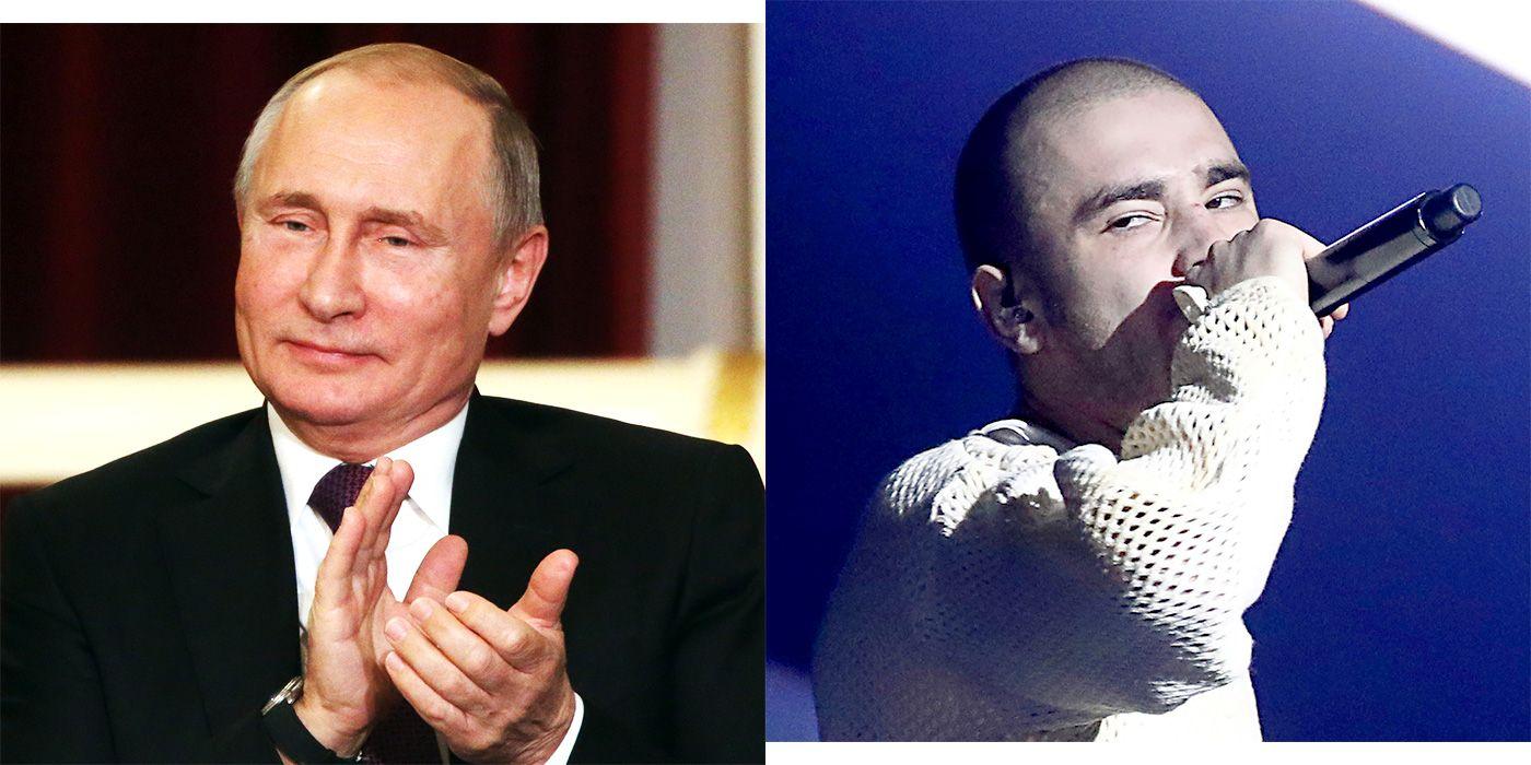 Vladimir Putin Is Cracking Down on Rap Music in Russia