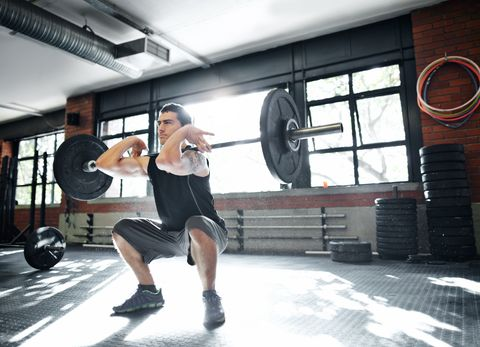 how low to squat
