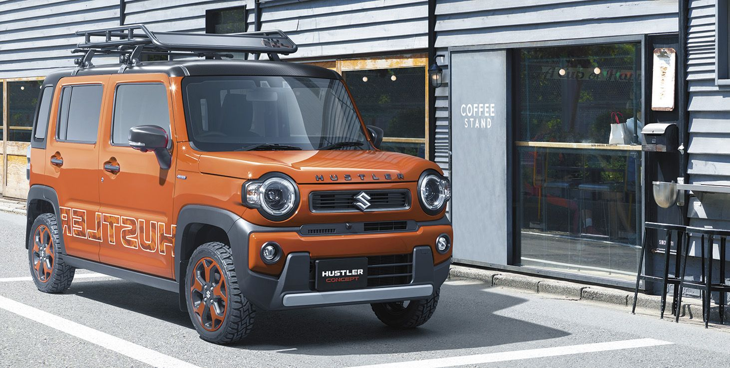 Suzuki Hustler Concept Is Like The Jimny In Looks Only