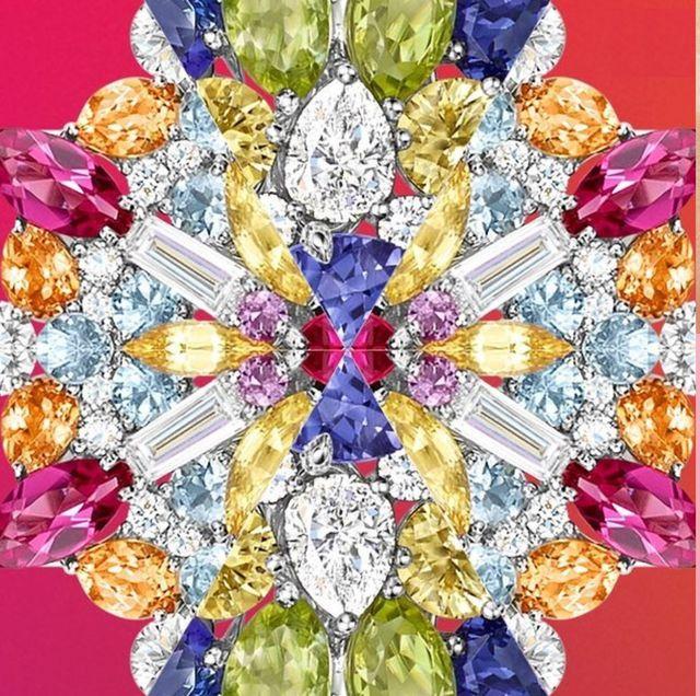 鑽石之王也來搶奪彩寶寶座?harry winston史上最繽紛winston candy、萬花筒kaleidoscope珠寶登台!