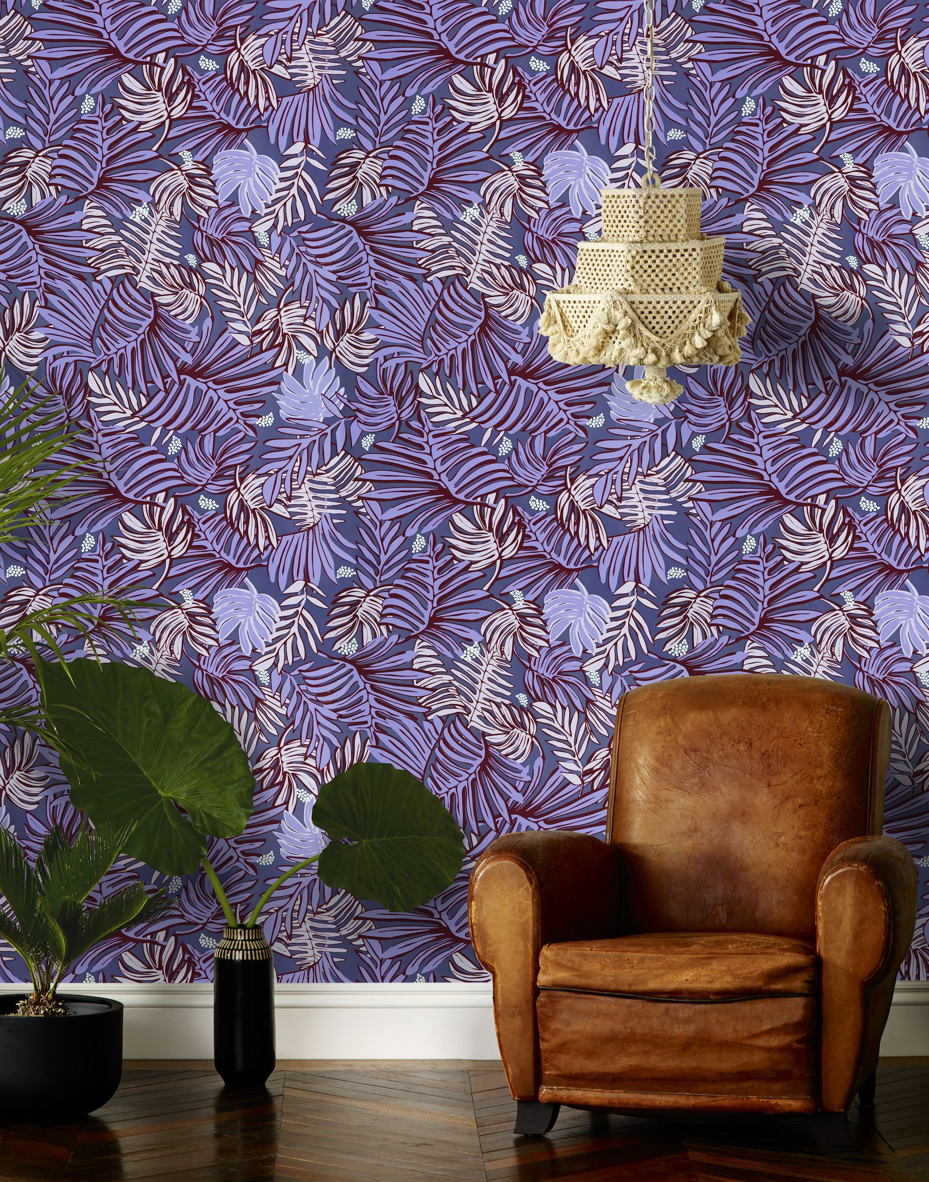 excellent funky wallpaper for house.  25 Cool Home Wallpapers Pattern Wallpaper Design Ideas