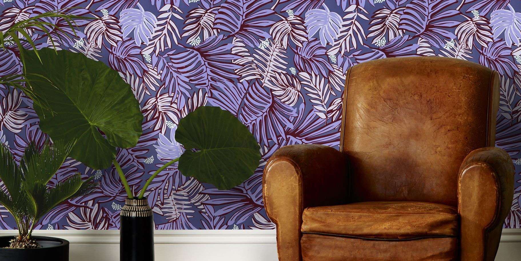 35 Cool Home Wallpapers Pattern Wallpaper Design Ideas