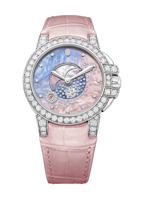 Harry Winston Ocean moon phase watch