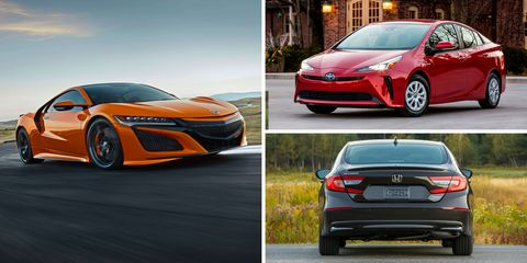 Every Hybrid Car You Can In 2019