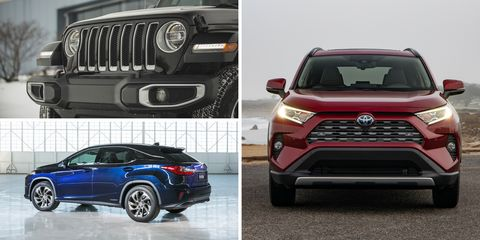 Hybrid Crossovers And Suvs