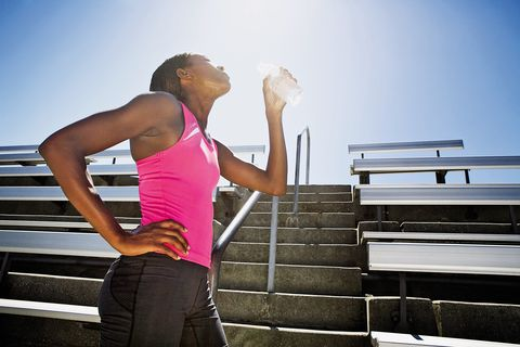 Stay Hydrated on a Hot Run