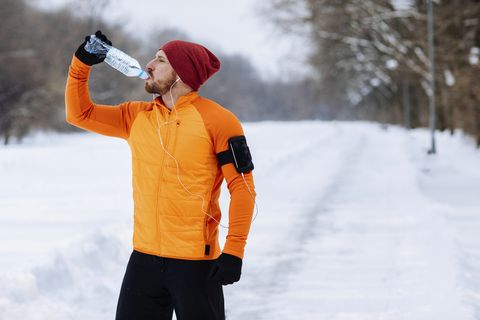 hydration after running
