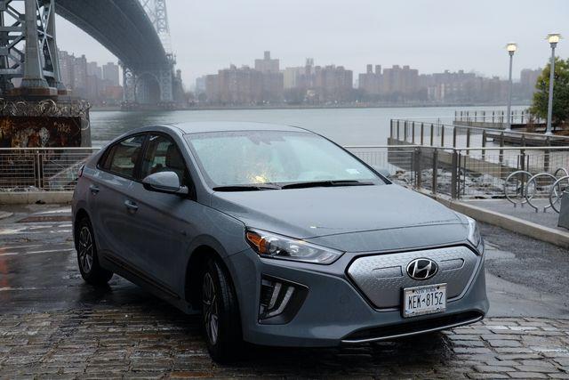 hyundai ioniq electric car new york city