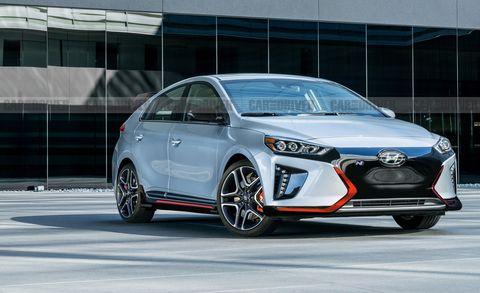 Hyundai Ioniq N Ev Ilration