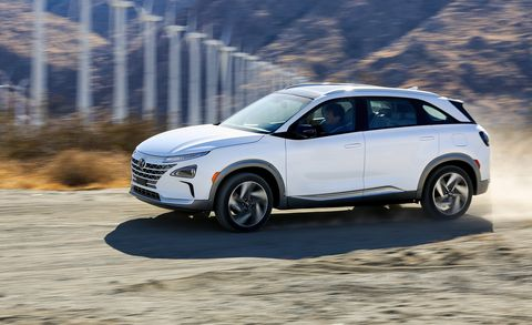 The 2019 Hyundai Nexo Is the New Shape of Water Exhaust