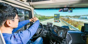 Hyundai camion autonomo