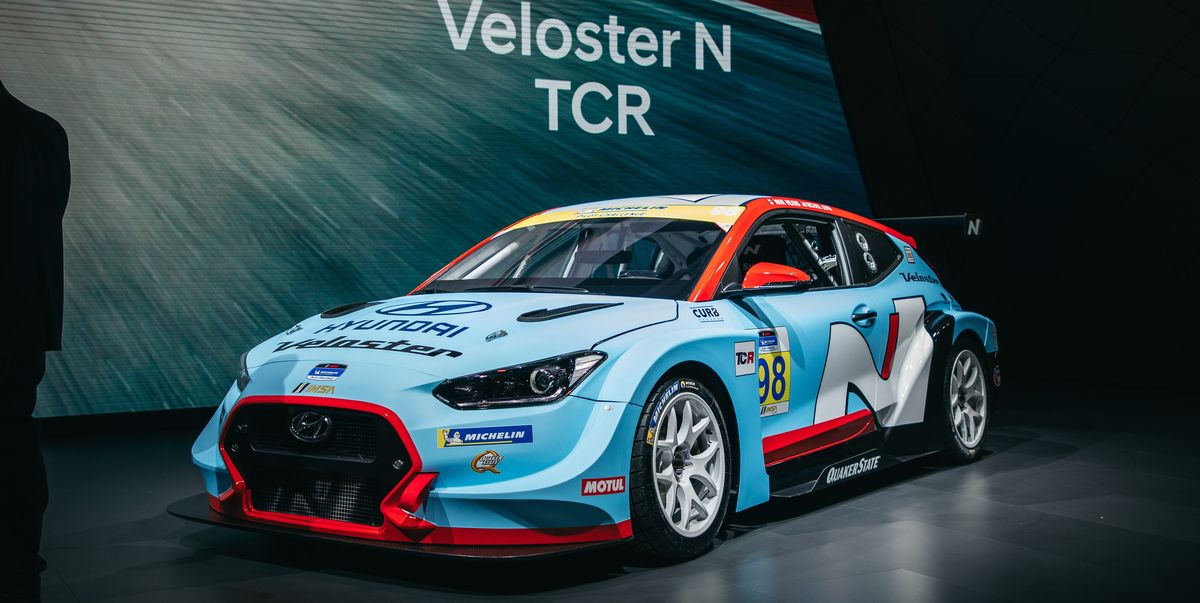 Lease Used Mercedes >> 350-HP Hyundai Veloster N TCR - Factory-Backed Race Car