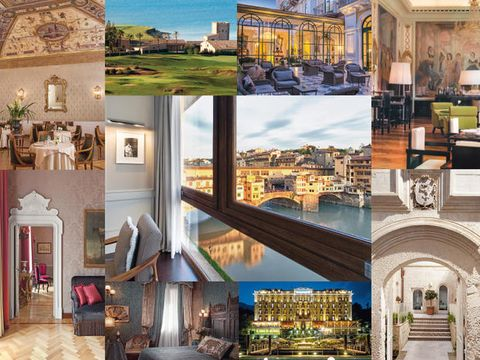 I 10 migliori hotel 5 stelle italiani