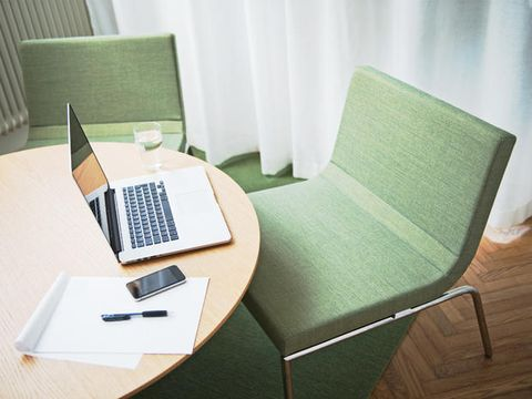 Wood, Product, Electronic device, Office equipment, Interior design, Furniture, Hardwood, Table, Laptop part, Technology,