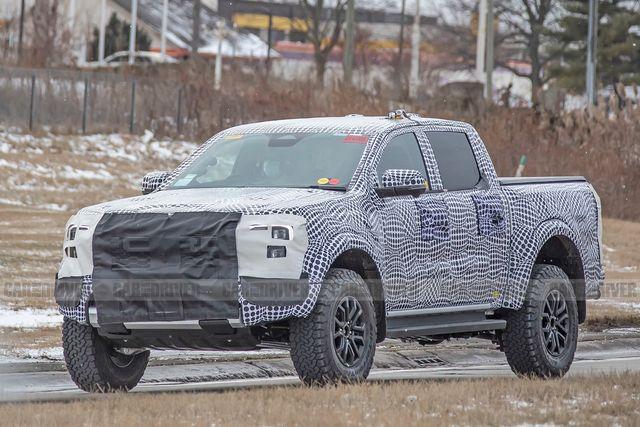 2023 ford ranger raptor spied