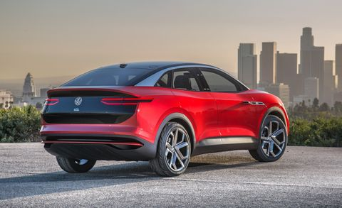 Volkswagen I D Crozz Concept