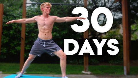30日間, 初心者,自宅,ヨガ,続けて起きた身体の変化,効果,yoga,トレーニング,筋トレ,
