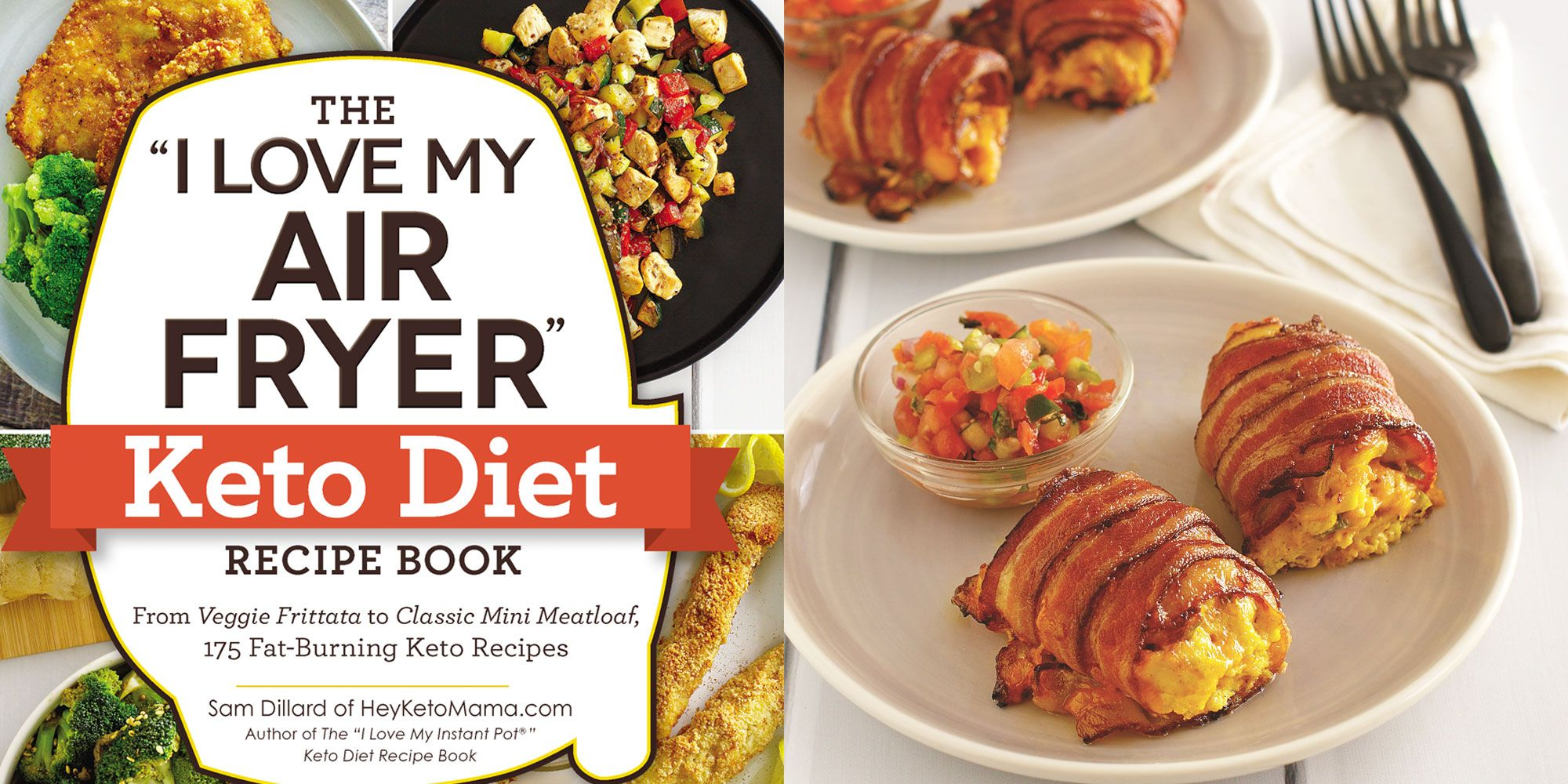 The I Love My Air Fryer Keto Diet Recipe Book Is Full Of Easy Keto Meals