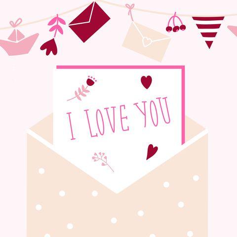 Pink, Text, Font, Heart, Line, Design, Illustration, Pattern, Logo, Clip art,