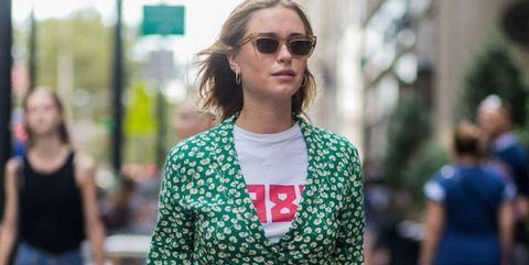 Clothing, Eyewear, Shoulder, Outerwear, Street fashion, Style, Summer, Shorts, Pattern, Bag,