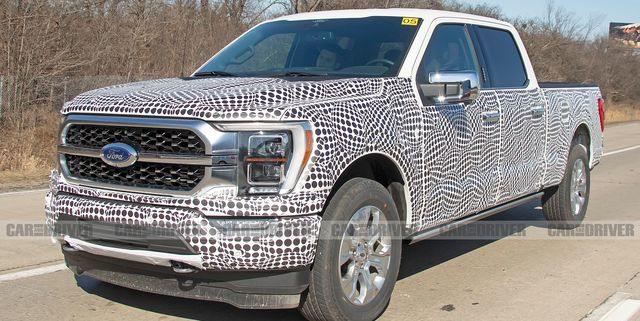 Spy Photos Give an Even Closer Look at the 2021 Ford F-150