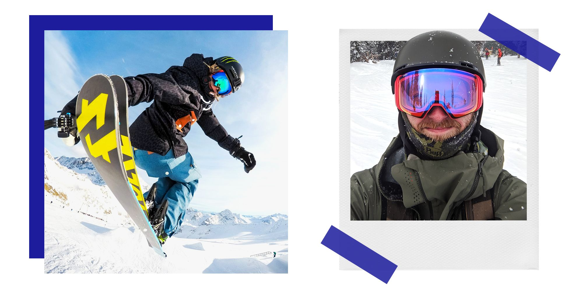 Smith's 4D Mag Ski Goggles Provide Virtually Unobstructed Views of the Mountain