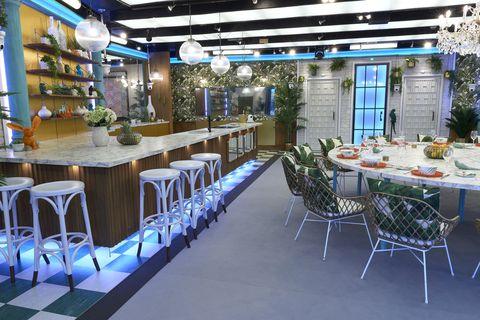 Celebrity Big Brother House 2018 - house photos - interior design