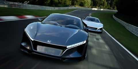 The Honda Sports Vision Gt Is The Junior Nsx We Need Deserve