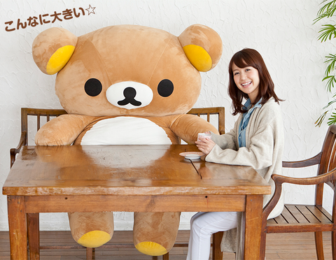 Stuffed toy, Teddy bear, Plush, Toy, Yellow, Furniture, Table, Room, Textile,