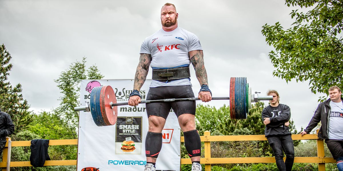 world strongest man competition steroids