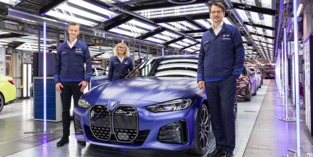 BMW Starts Building the i4 Tesla-Fighter