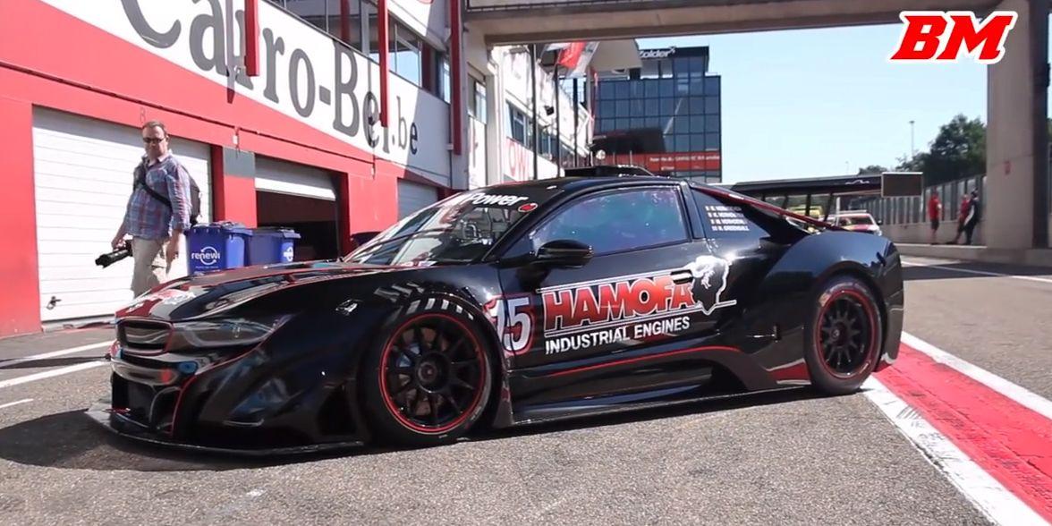 Car Auction Apps >> This BMW i8 Race Car Has the Screaming V8 From a Z4 GTE