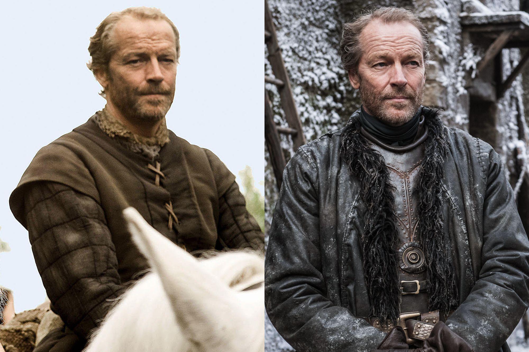 Iain Glen as Jorah Mormont Season One to Season Eight.