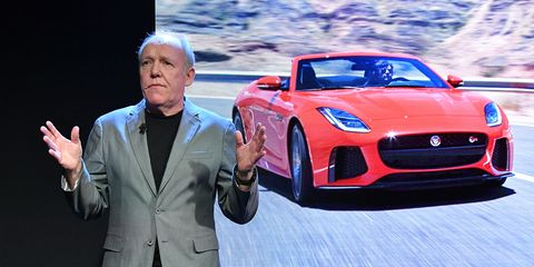 Ian Callum Jaguar F-Type SVR