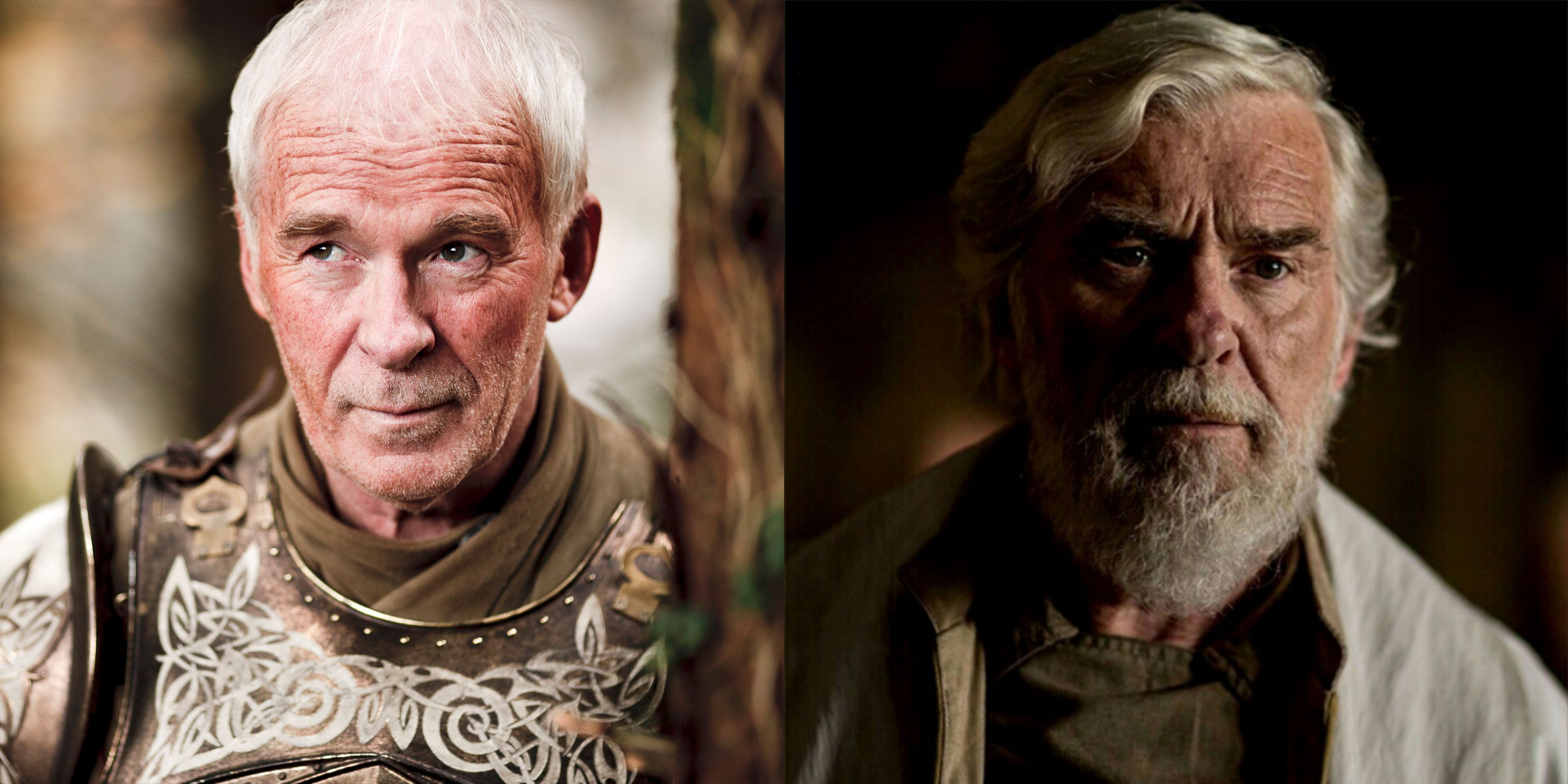 Ian McElhinney McElhinney went out swinging on GOT as Ser Barristan, and he followed up his Thrones stint with an appearance as General Dodonna in Rogue One: A Star Wars Story . Not too shabby.