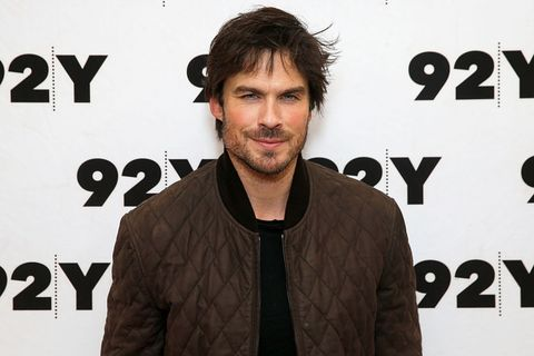 Ian Somerhalder says he learned about sex from spying on his brother