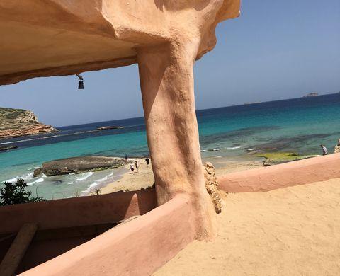 Formation, Azure, Sea, Beach, Coast, Sky, Vacation, Rock, Summer, Tropics,