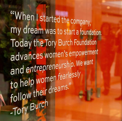 9c001b60bf73 How to Watch Tory Burch s  EmbraceAmbition Series on Entrepreneurship