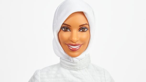 【人形】ヒジャブ着用のバービーが登場 五輪選手がモデルに ->画像>14枚