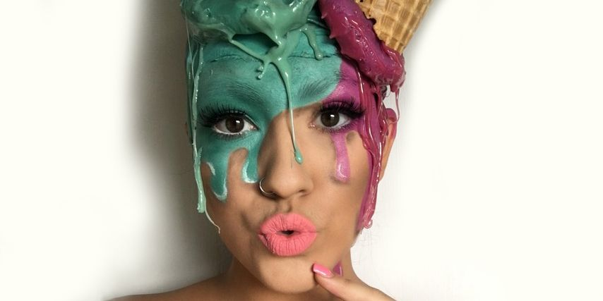 These Makeup Artists Are Taking Their Love Of Ice Cream To -4323