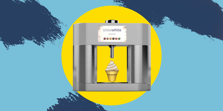 LG's SnowWhite Prototype Is Like a Keurig for Ice Cream