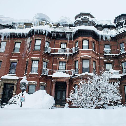 USA - Record Snowfall Hits Boston