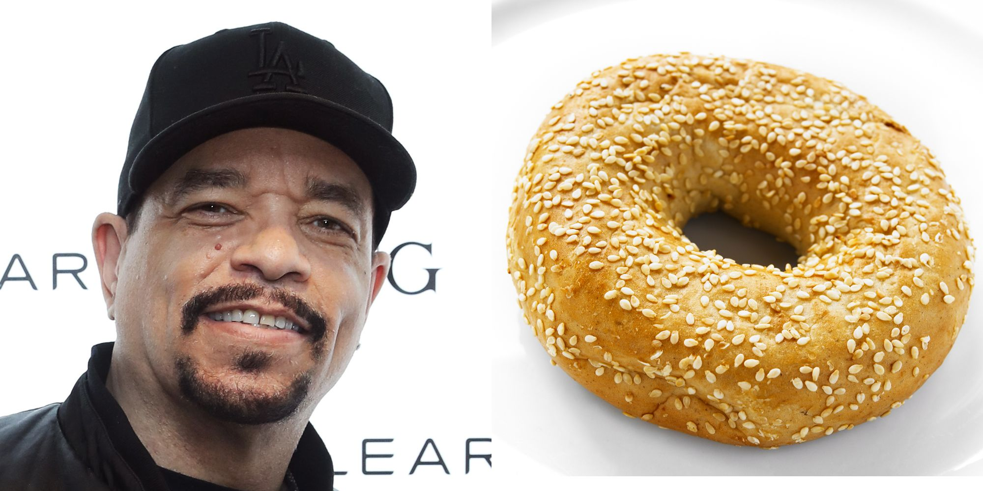 ICE T of Law and Order: SVU fame has claimed to never have had a cup of coffee or eaten a bagel.
