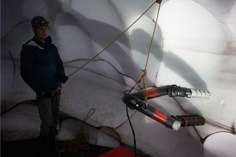 iceworm climbing robot