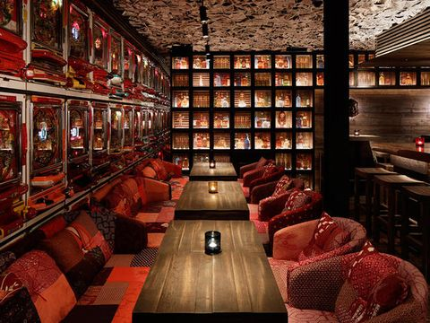 Building, Room, Interior design, Wine cellar, Bar,